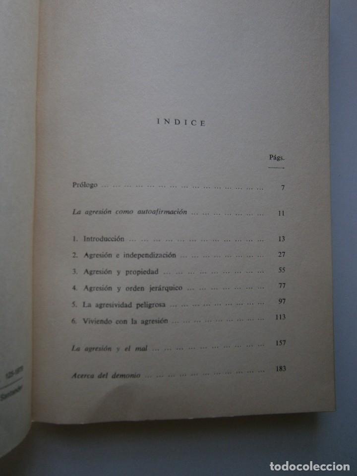 Libros de segunda mano: LA AGRESIVIDAD NECESARIA Christa Meves Joachim Illies - Foto 10 - 128393547