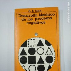 Libros de segunda mano: DESARROLLO HISTORICO DE LOS PROCESOS COGNITIVOS. A.R. LURIA. AKAL UNIVERSITARIA Nº 92. TDK349. Lote 128614851