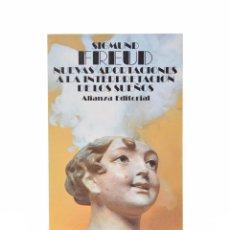 Libros de segunda mano: NUEVAS APORTACIONES A LA INTERPRETACIÓN DE LOS SUEÑOS - MUY BUEN ESTADO - FREUD, SIGMUND. Lote 130496368