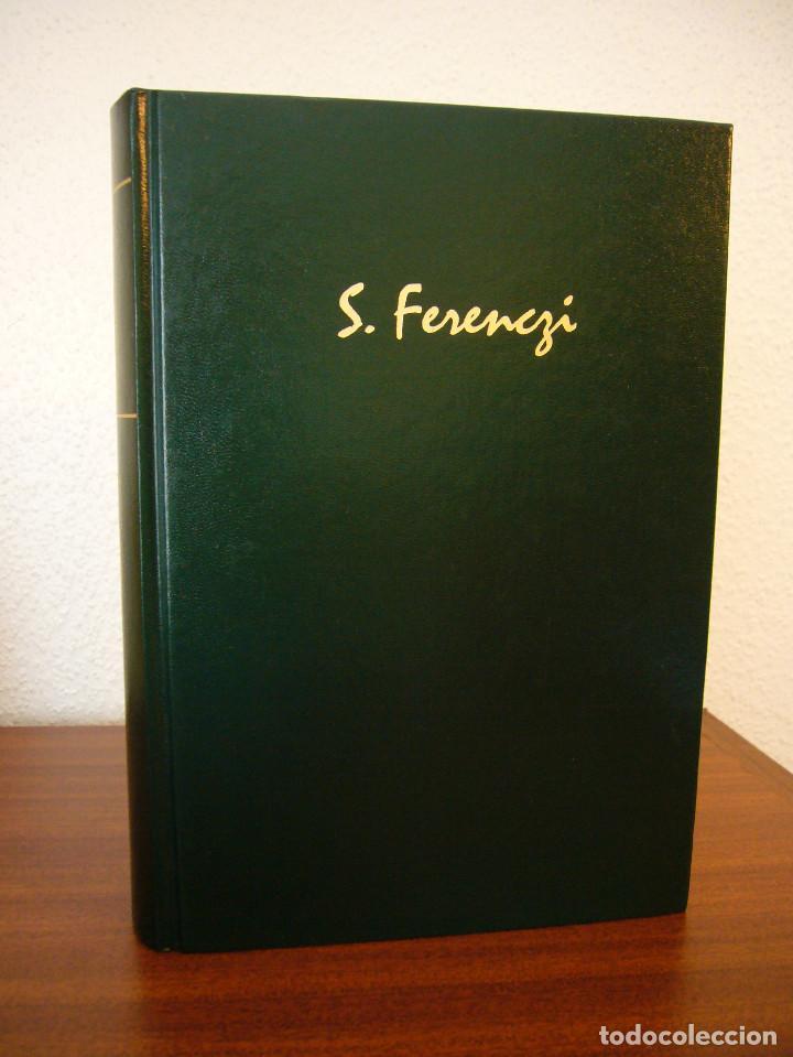Libros de segunda mano: SÁNDOR FERENCZI: OBRAS COMPLETAS, I (RBA, BIBLIOTECA DE PSICOANÁLISIS, 2006) EXCELENTE ESTADO - Foto 2 - 131508322
