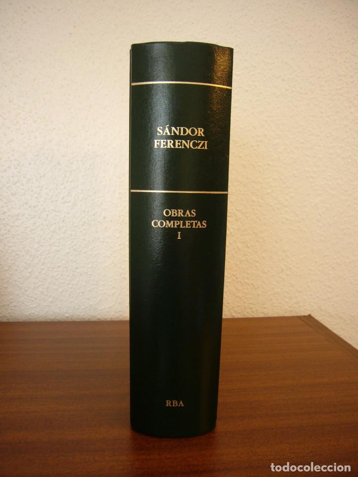 Libros de segunda mano: SÁNDOR FERENCZI: OBRAS COMPLETAS, I (RBA, BIBLIOTECA DE PSICOANÁLISIS, 2006) EXCELENTE ESTADO - Foto 3 - 131508322
