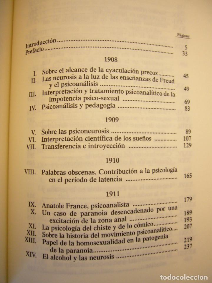Libros de segunda mano: SÁNDOR FERENCZI: OBRAS COMPLETAS, I (RBA, BIBLIOTECA DE PSICOANÁLISIS, 2006) EXCELENTE ESTADO - Foto 4 - 131508322
