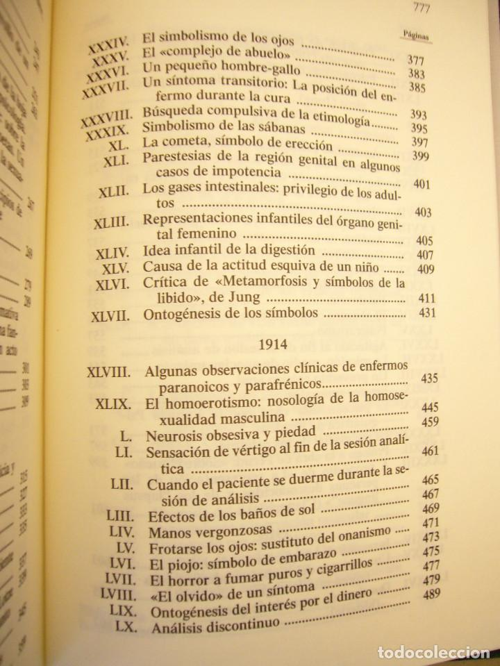 Libros de segunda mano: SÁNDOR FERENCZI: OBRAS COMPLETAS, I (RBA, BIBLIOTECA DE PSICOANÁLISIS, 2006) EXCELENTE ESTADO - Foto 6 - 131508322