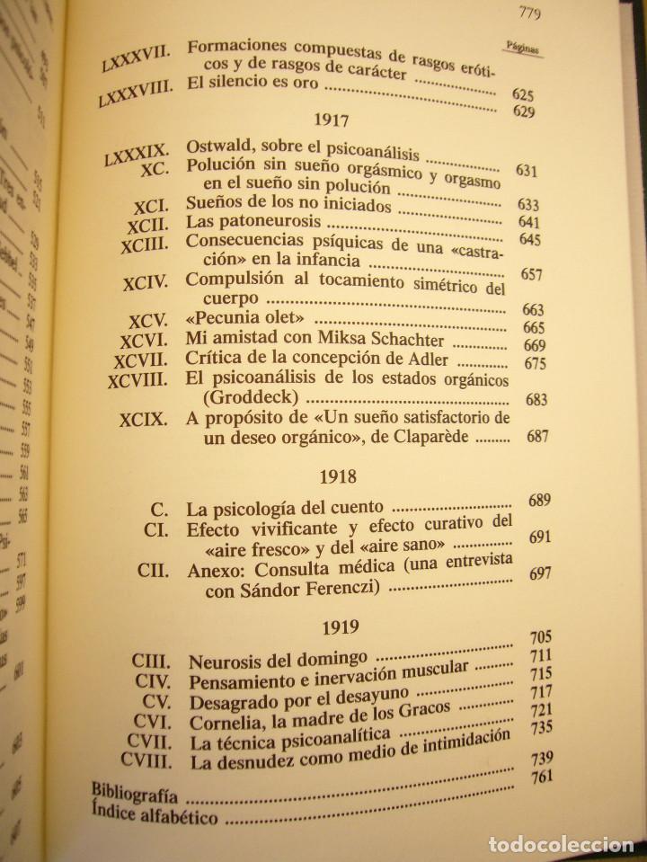 Libros de segunda mano: SÁNDOR FERENCZI: OBRAS COMPLETAS, I (RBA, BIBLIOTECA DE PSICOANÁLISIS, 2006) EXCELENTE ESTADO - Foto 8 - 131508322