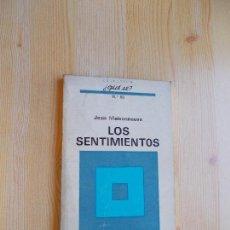 Libros de segunda mano: LOS PENSAMIENTOS DE JEAN MAISONNEUVE - 1973. Lote 132025210
