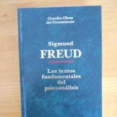 Libros de segunda mano: LOS TEXTOS FUNDAMENTALES DEL PSICOANALISIS - SIGMUND FREUD - ALTAYA - TAPA DURA (GX). Lote 132070986