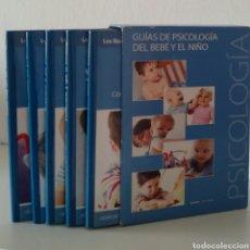 Libros de segunda mano: GUÍAS DE PSICOLOGÍA DEL BEBÉ Y EL NIÑO. SFERA EDITORES, 2007. 5 GUÍAS.. Lote 132881490