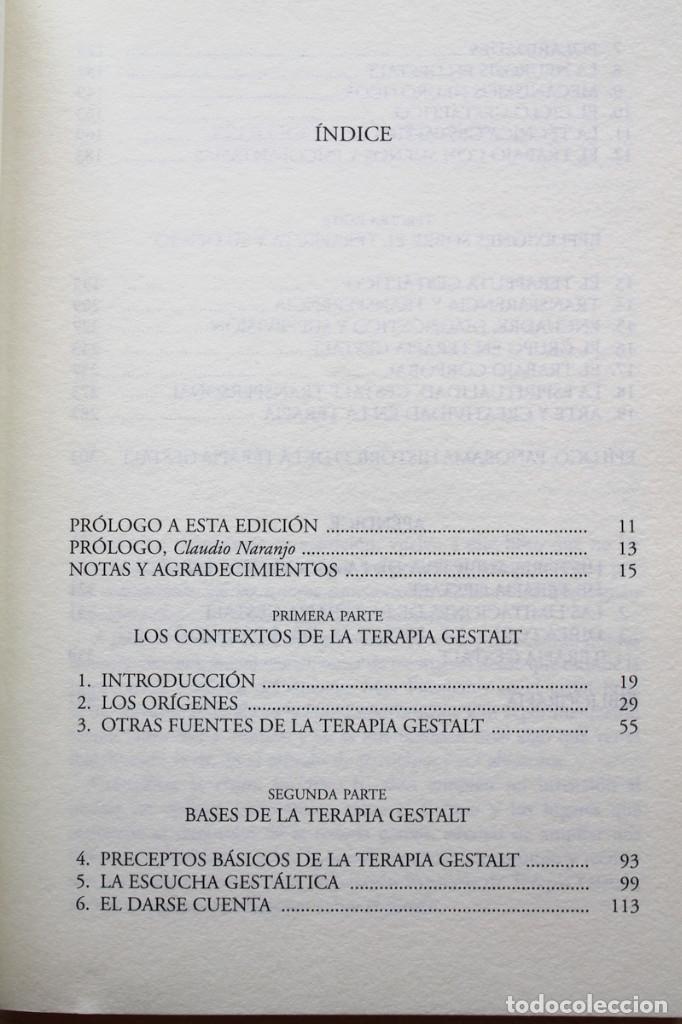 Libros de segunda mano: F.Peñarrubia - Terapia Gestalt. La vía del vacío fértil - Alianza Editorial - Foto 4 - 133167302