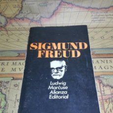 Libros de segunda mano: SIGMUND FREUD. LUDWIG MARCUSE. ALIANZA EDITORIAL Nº 203. . Lote 133310834