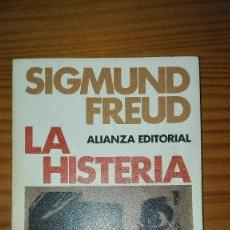 Libros de segunda mano: LA HISTERIA SIGMUND FREUD ALIANZA EDITORIAL 1968. Lote 135682911