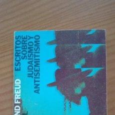 Libros de segunda mano: ESCRITOS SOBRE JUDAISMO Y ANTISEMITISMO SIGMUND FREUD ALIANZA EDITORIAL 1970. Lote 135684799