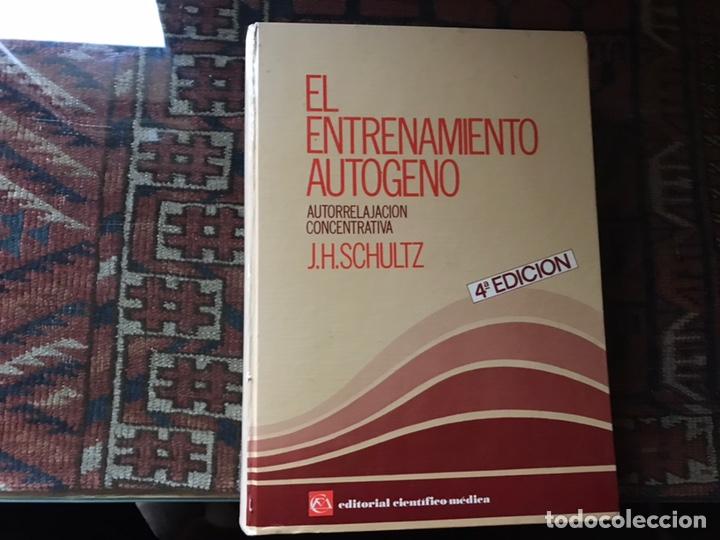 EL ENTRENAMIENTO AUTÓGENO. J. H. SCHULTZ. AUTOR RELAJACIÓN CONCENTRACIÓN. CON CUADERNO (Libros de Segunda Mano - Pensamiento - Psicología)