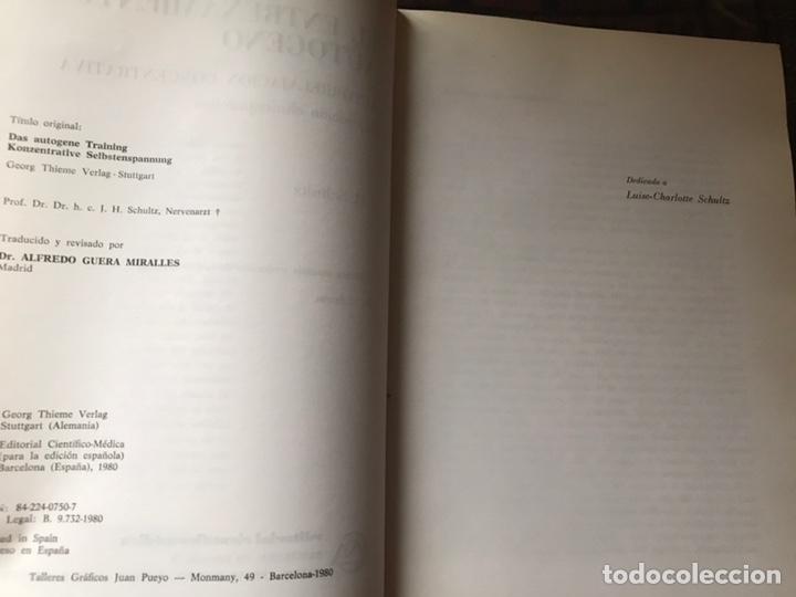 Libros de segunda mano: El entrenamiento autógeno. J. H. Schultz. Autor relajación concentración. Con cuaderno - Foto 4 - 180250297