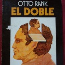 Livros em segunda mão: OTTO RANK: EL DOBLE. Lote 137868194