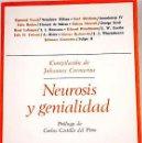 Libros de segunda mano: NEUROSIS Y GENIALIDAD. BIOGRAFÍAS PSICOANALÍTICAS - JOHANNES CREMERIUS (COMPILACION). Lote 54175490