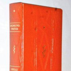 Libros de segunda mano: OBRAS COMPLETAS DE SIGMUND FREUD. TOMO I.. Lote 138874246