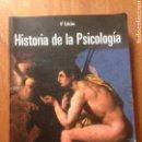 Libros de segunda mano: HISTORIA DE LA PSICOLOGÍA -THOMAS LEAHEY. Lote 139412432