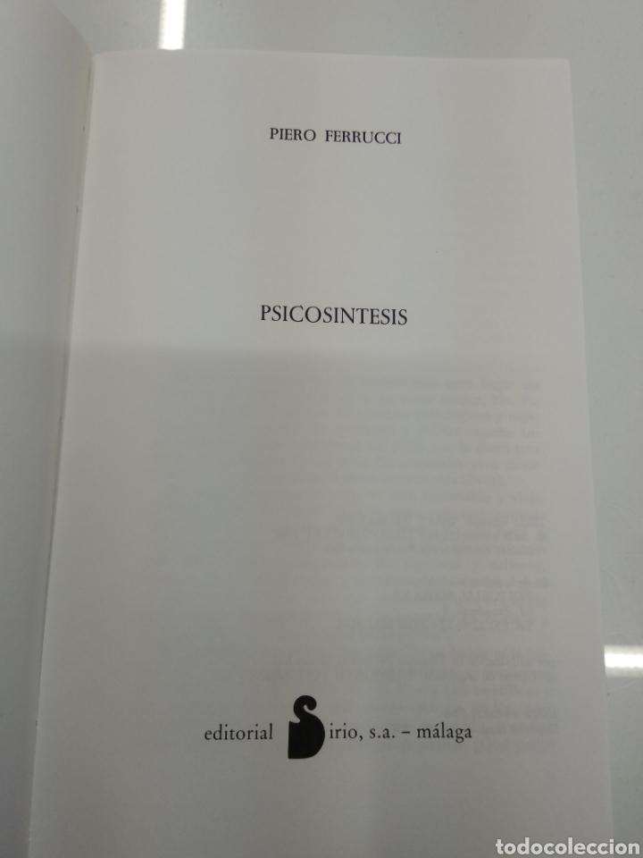 Libros de segunda mano: PSICOSINTESIS DR. PIERO FERRUCCI SIRIO EDITORIAL CRECIMIENTO ESPIRITUAL - Foto 4 - 139568229