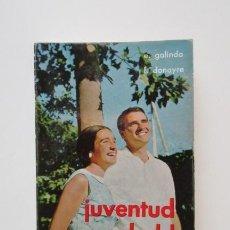 Second hand books - JUVENTUD REBELDE, E. GALINDO, F. DONAYRE, PENSAMIENTOS PARA TRIUNFAR EN TU VIDA, 1967 - 140189194