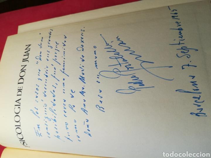 Libros de segunda mano: Psicología de Don Juan, practica del enamoramiento-Portabella Durán-Zeus, 1965-Firmado por el autor - Foto 5 - 140985016