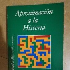 Libros de segunda mano: APROXIMACION A LA HISTERIA (SALVADOR MASCARELL, COORDINADOR). Lote 141153274