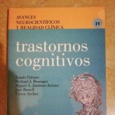 Libros de segunda mano: TRASTORNOS COGNITIVOS (VV. AA.). Lote 141263374