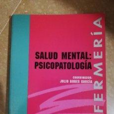 Libros de segunda mano: SALUD MENTAL: PSICOPATOLOGIA (COORDINADOR: JULIO BOBES GARCIA) EDITORIAL SINTESIS. Lote 141503138