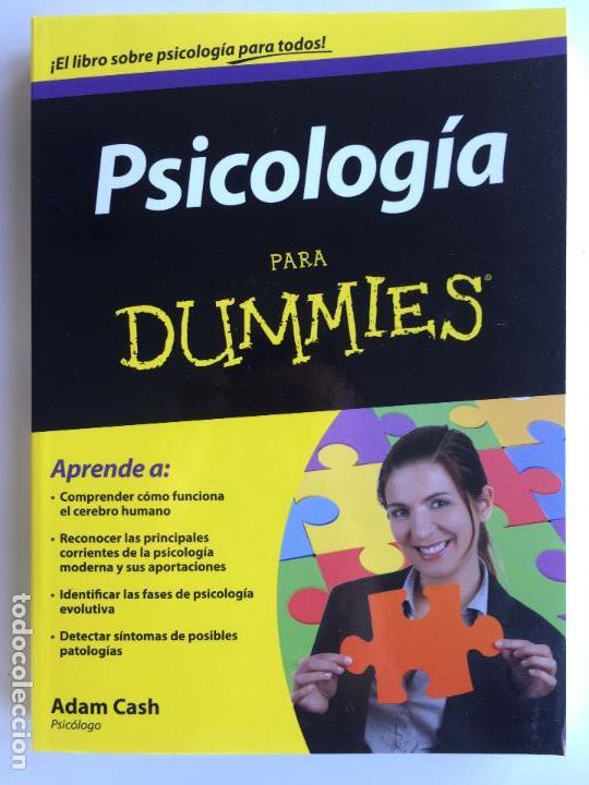 PSICOLOGÍA PARA DUMMIES - ADAM CASH (Libros de Segunda Mano - Pensamiento - Psicología)