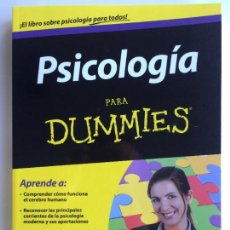 Second hand books - PSICOLOGÍA PARA DUMMIES - ADAM CASH - 142416706