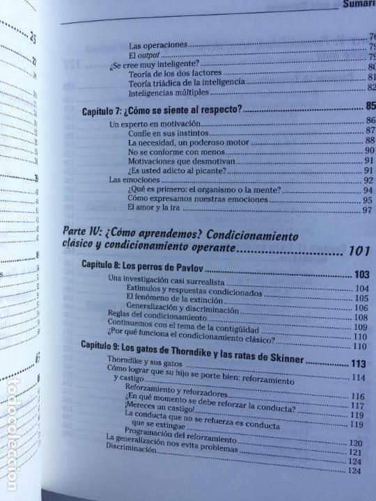 Libros de segunda mano: PSICOLOGÍA PARA DUMMIES - ADAM CASH - Foto 6 - 142416706