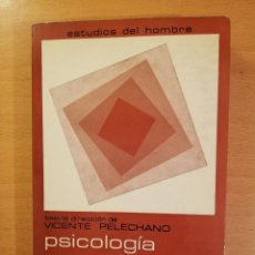 Libros de segunda mano: PSICOLOGIA ESTIMULAR Y MODULACION (VICENTE PELECHANO) EDICIONES MAROVA. Lote 142788854