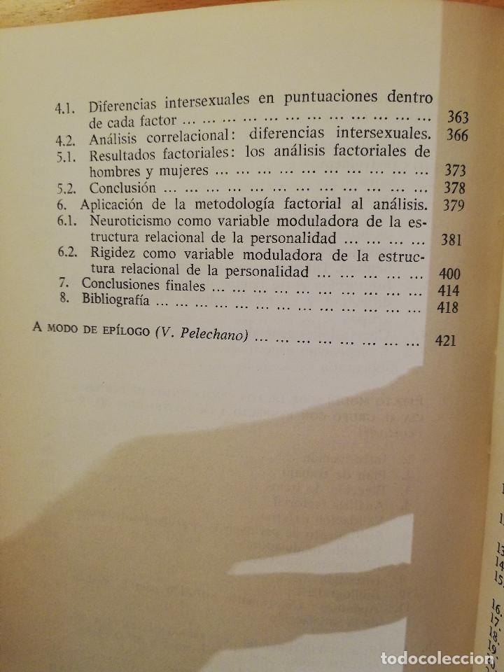 Libros de segunda mano: PSICOLOGIA ESTIMULAR Y MODULACION (VICENTE PELECHANO) EDICIONES MAROVA - Foto 6 - 142788854