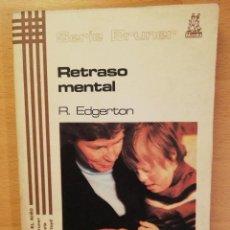 Libros de segunda mano: EL RETRASO MENTAL (R. EDGERTON). Lote 142792346