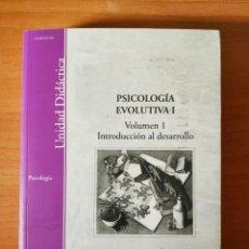 Libros de segunda mano: PSICOLOGÍA EVOLUTIVA VOL. 1. Lote 143112758