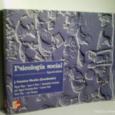 Libros de segunda mano: PSICOLOGÍA SOCIAL. 1999. Lote 143808938