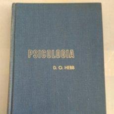 Libros de segunda mano: PSICOLOGIA/D.O.HEBB. Lote 143940397