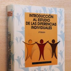 Libros de segunda mano: INTRODUCCIÓN AL ESTUDIO DE LAS DIFERENCIAS INDIVIDUALES - SANCHEZ-ELVIRA PANIAGUA, ÁNGELES (ED.) - A. Lote 144131476