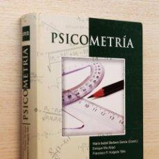 Libros de segunda mano: PSICOMETRÍA - BARBERO GARCÍA, Mª ISABEL (COORD.) - VILA ABAD, ENRIQUE - HOLGADO TELLO, FRANCISCO P.. Lote 144131480