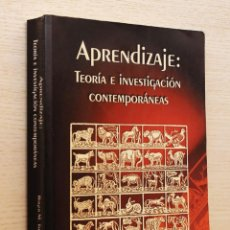 Libros de segunda mano: APRENDIZAJE: TEORÍA E INVESTIGACIÓN CONTEMPORÁNEAS - TARPY, ROGER M.. Lote 144131516