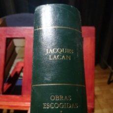 Libros de segunda mano: JACQUES LACAN -OBRAS ESCOGIDAS-EDITORIAL RBA-SIN DESPRECINTAR-NUEVO. Lote 144903014