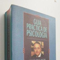Libros de segunda mano: GUÍA PRÁCTICA DE PSICOLOGÍA - VALLEJONÁGERA, JUAN ANTONIO. Lote 145461680