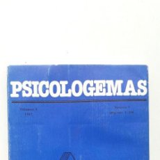Libros de segunda mano: PSICOLOGEMAS. VOL 1. Lote 145816522