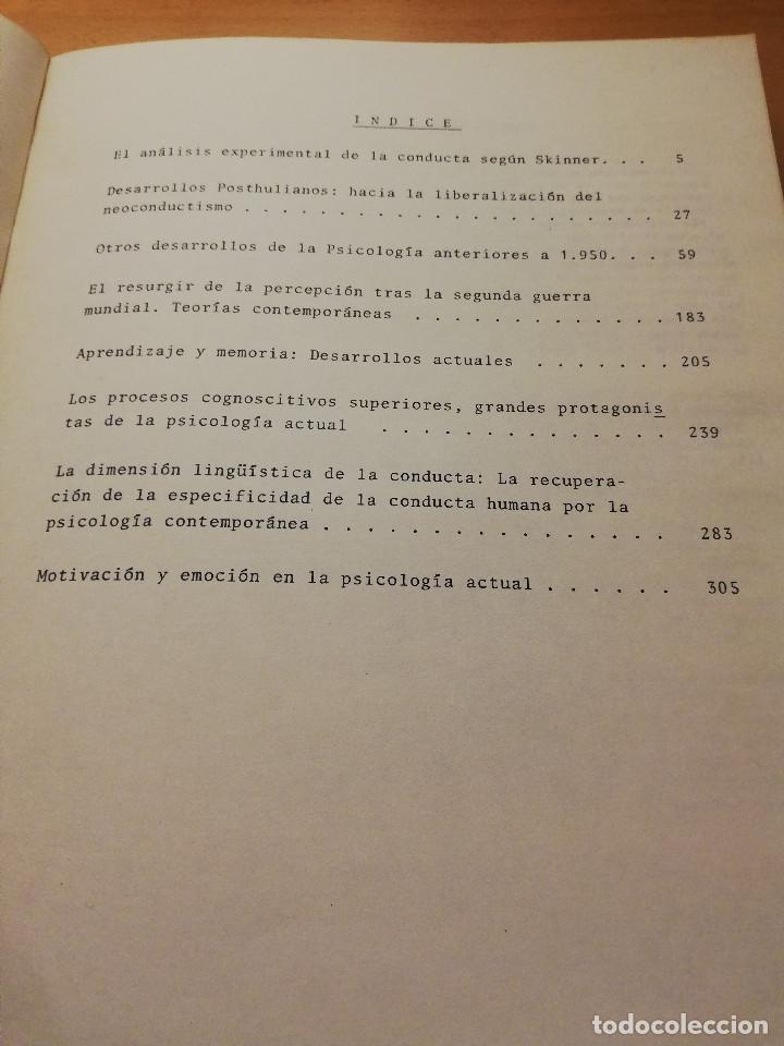 Libros de segunda mano: HISTORIA DE LA PSICOLOGÍA. TOMO II - 2ª PARTE (DR. ANTONIO CAPARRÓS) - Foto 2 - 147739842