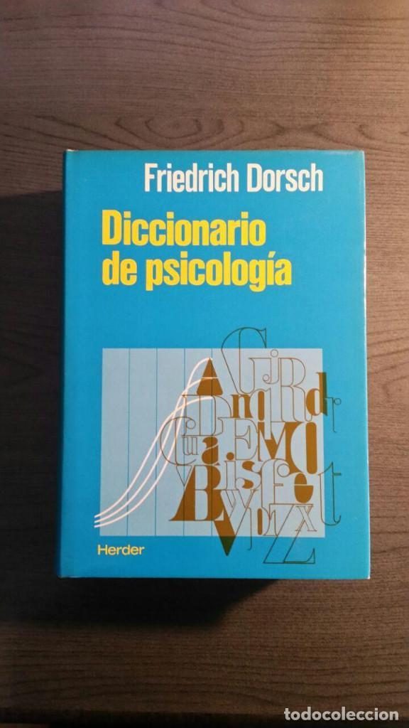 DICCIONARIO DE PSICOLOGIA (Libros de Segunda Mano - Pensamiento - Psicología)