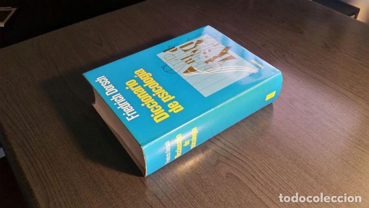 Libros de segunda mano: DICCIONARIO DE PSICOLOGIA - Foto 4 - 147745262