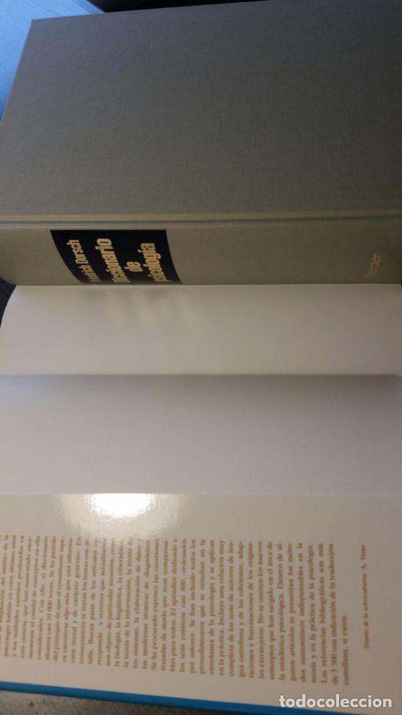 Libros de segunda mano: DICCIONARIO DE PSICOLOGIA - Foto 6 - 147745262
