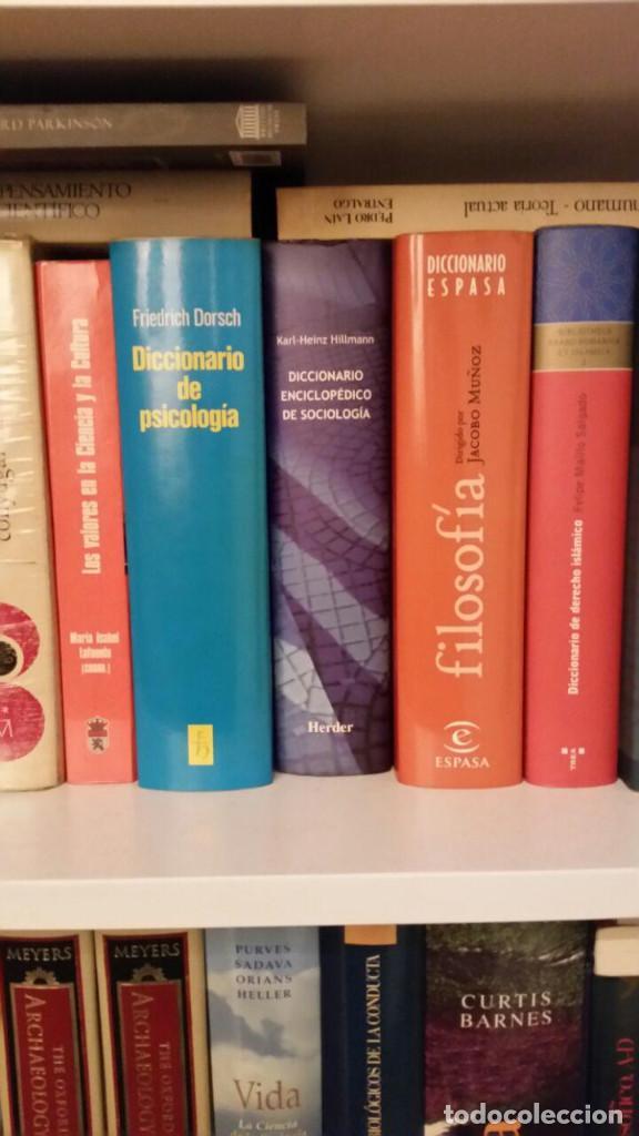 Libros de segunda mano: Diccionario enciclopédico de sociología - Foto 9 - 147745786