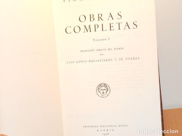 Libros de segunda mano: SIGMUND FREUD, OBRAS COMPLETAS (I) - Foto 4 - 147754130
