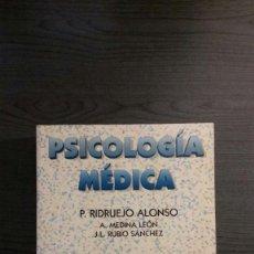 Libros de segunda mano: PSICOLOGÍA MÉDICA. Lote 147776110