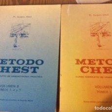 Libros de segunda mano: METODO CHEST CURSO DE MNEMOTECNIA PRACTICA TOMOS 1 2 3 4 5 EN 2 VOLUMENES DINAMICA MENTAL INSTITUT. Lote 147937134